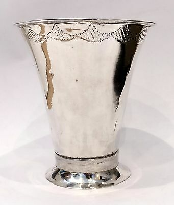Antique Solid Silver Swedish Cup/ Tumbler about 1830