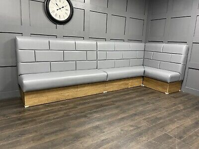 Bespoke Commercial Seating, Booth Seating, Chesterfield Seating, £110 Per Foot