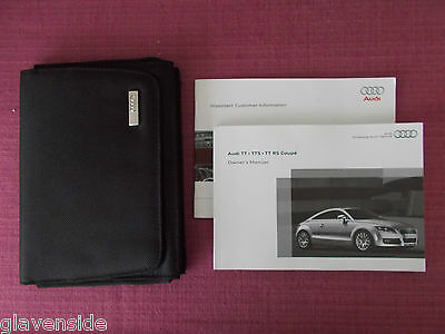 Audi Tt Coupe / Tts Coupe / Tt Rs Coupe  Handbook - Guide - Manual (Au 502)