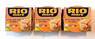 3 RIO MARE CANNED TUNA IN OLIVE OIL 3 x 160 gr.( 480 gr)