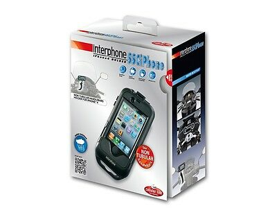 Interphone Iphone 4/4S Wasserdichte Schwarz
