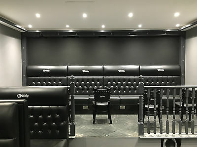 Bespoke Commercial Seating, Booth Seating, Bench Seating (£85 Per Foot)
