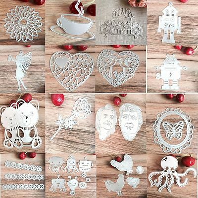 Bow DIY Decor Metal Stencil Scrapbooking Embossing Card Album Cutting Dies