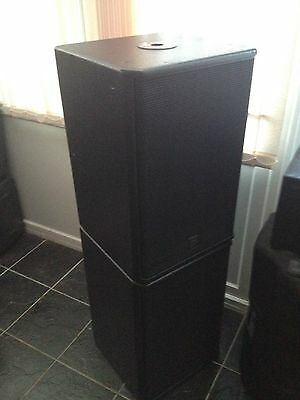 LOGIC SYSTEMS B150i BASS/ SUB PRO AUDIO SPEAKERS (PAIR)
