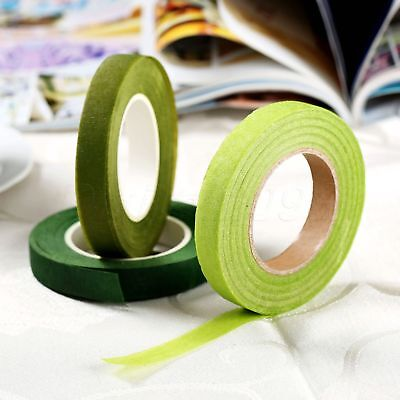 DIY Artificial Flowers Craft Floral Stem Tape Wrap Corsages Flower Stamen 1 Roll