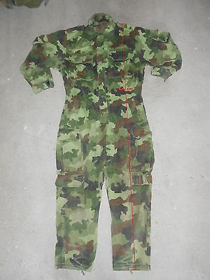 Overall M93 camo used by Army of Serb Republic VRS
