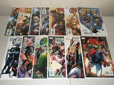 Young Avengers #1-12 + Special (Complete 2005 series) Full lot set run