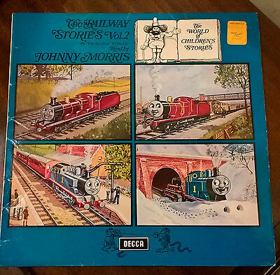 JOHNNY MORRIS The Railway Stories Vol.2 - 33rpm (Thomas the Tank Engine) PA 271