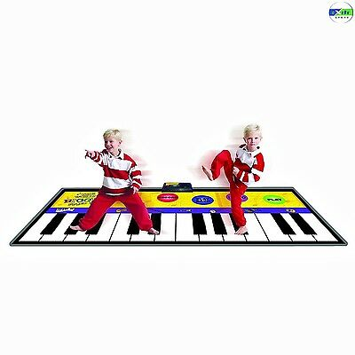 Smart Planet Piano Floor Mat Play Record Playback Demo Modes Instrumental 6 Foot