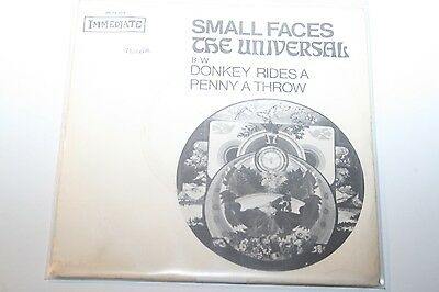 """Small Faces - The Universal - 7"""" Immediate"""