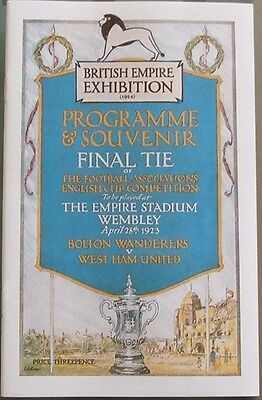 BOLTON WANDERERS v WEST HAM UNITED 1923 FA CUP FINAL