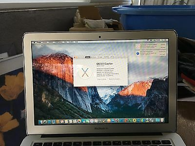 Apple - macbook air 13 / Processeur i5 1,3 Ghz / 4Go / SSD 256Go QWERTY like new