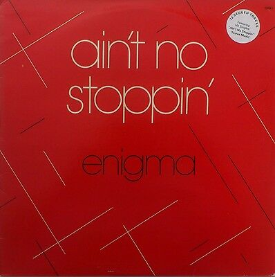 "Enigma - Ain't No Stoppin' - 12"" Vinyl LP - 72 Segued Tracks - 1981 - DISCO"
