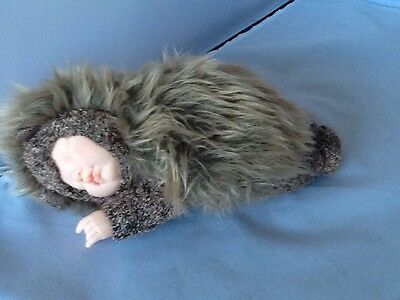 "Anne Geddes Baby Hedgehog Plush Beanie 9"" Long"