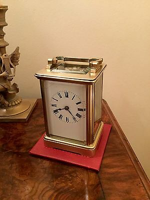 Stunning Victorian Striking carriage clock Lovely Condition