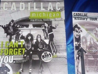 Kiss - Official Cadillac Travel Guide + Kisstory Tour Booklet, Mint / Wie Neu