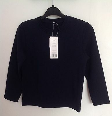 Unisex Dark Blue Sweatshirt Jumper Age 7-8 Years From George