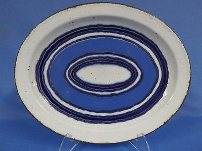 Wedgwood Stonehenge Moon by Midwinter Ltd. Blue Circles Oval Platter