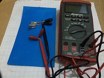 Snap On Auto Ranging Plus Multimeter EEDM586D.