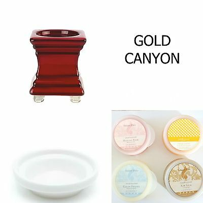 Gold Canyon Pod Warmer + 4 Scent Pods + 1 Fragrance Oil + 1 Oil Adapter