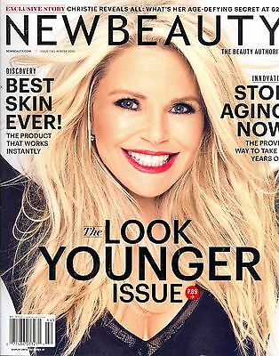 NEW BEAUTY Magazine Fall-Winter 2016 Christy Brinkley Cover LOOK YOUNGER NEW!