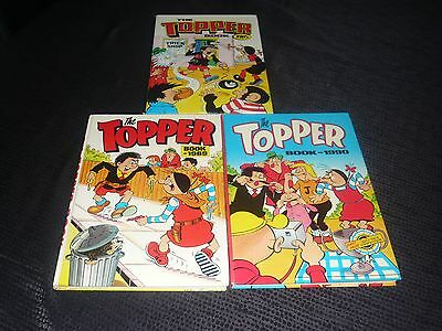 The Topper Books 1985/1989 and 1990 (Hardback Annuals)