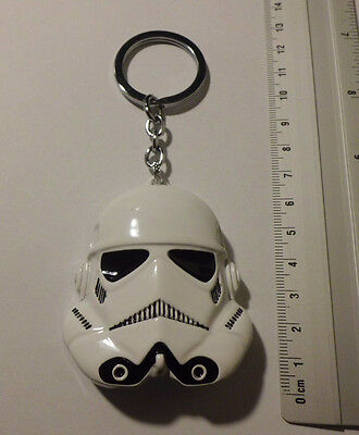 Porte-clés collection -  STAR WARS - stormtrooper 2- Métal bl - neuf ///