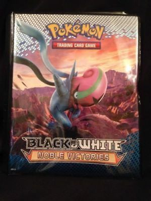 Pokemon Trading Card Game A5 Folder - holds 40 - 2011 Noble Victories  - (G21)