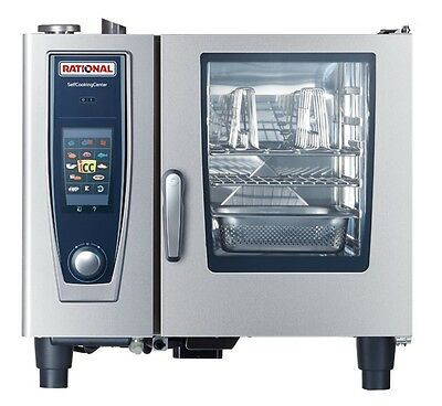 Rational SCCWE61 - 6 Tray Electric Combi Oven