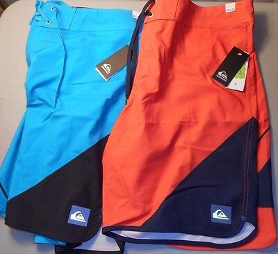 """LOT of 4 Pair of Quiksilver Boardshorts, ALL 38"""" - New With Tags - MENS"""