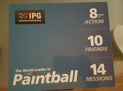 International Paintball Group  (IPG) Paintball Tickets