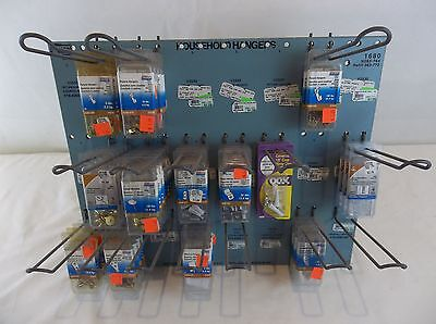 National Hardware Household Hangers Hardware Store Display  with Inventory #1680