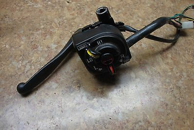 1988 Yamaha Scooter CG50 CG 50 Jog Front Left Switches Brake Lever Perch F13