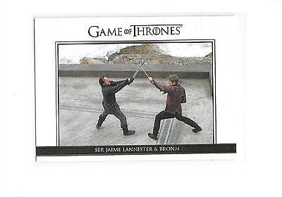 Game of Thrones Season 5 Ser Jamie Lannister Bronn #DL30 Gold Relationships /225