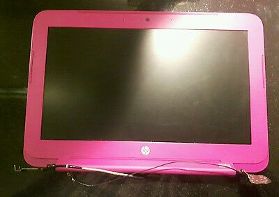 """HP Stream 11   11.6"""" LCD screen & Magenta Pink Rear Lid Cover"""