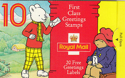 Stamp booklet UK, Royal Mail, First Class Greeting  Stamps, 1994, SG: KX 6  MNH
