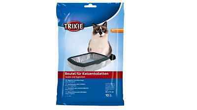 Trixie Cat Litter Tray Liners, 10 x 6 Packs (60 Litter Bags), up to 56 × 71 cm