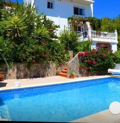 Villa with Pool Andalucia Tranquil Stunning Mountain Village Near Sea sleeps 4/6