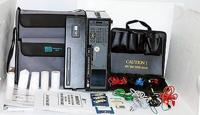 Dranetz Technologies BMI 658-400 Power Quality Analyzer with Probes + Case