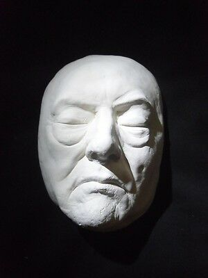 ALEISTER CROWLEY (The MOST EVIL man ever ) DEATH MASK  LIFE SIZE REPLICA