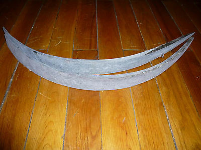1 pair long size of horn strips 65-70cm for making varied horn bows