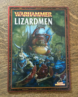 Warhammer Army Book - Lizardmen (2003)