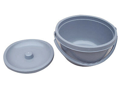 Replacement Commode bucket with Lid Light Weight Top Rated