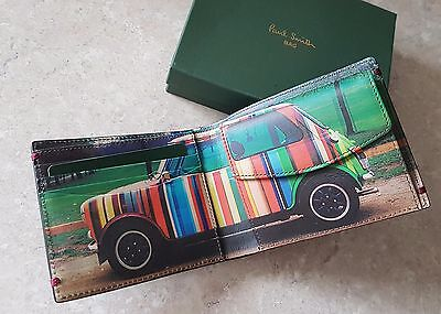 """Paul Smith """"Street Car"""" Leather Wallet with COIN POUCH - Brand New"""