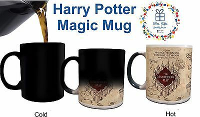 Magic mug Harry Potter Marauder's Map, Christmas Gifts ideas Colour Changing mug
