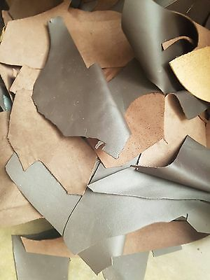 Mixed Leather Craft Scraps