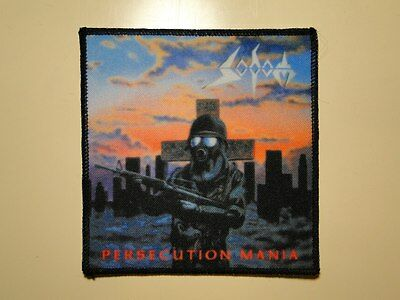 SODOM Persecution Mania new printed patch thrash metal