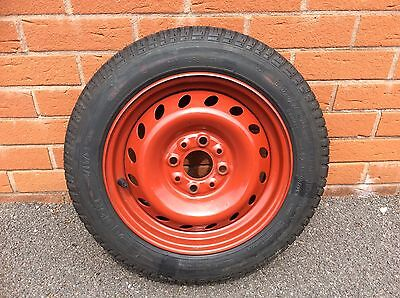 Fiat seicento Spare Wheel Very Good Condition new tyre