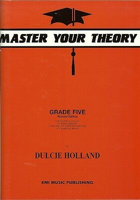*NEW* MASTER YOUR THEORY Book by Dulcie Holland Grade 5