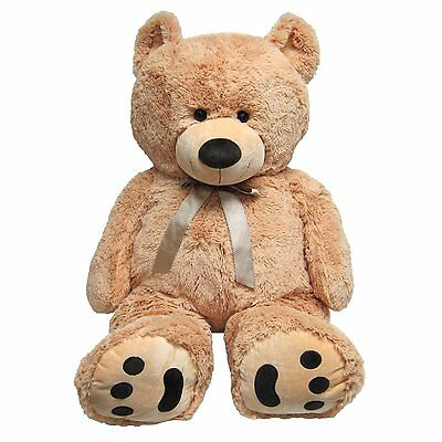 Huge Teddy Bear - Tan  028399007707